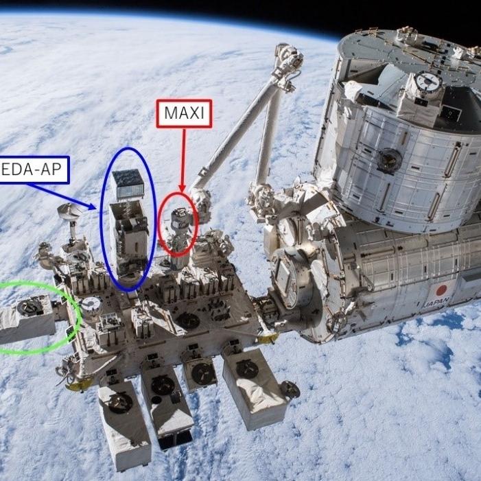 国際宇宙ステーション(ISS)・「きぼう」搭載の船外実験装置SEDA-AP、MAXI、CALETの連携により「電子の集中豪雨」による被ばく線量を測定~将来の宇宙天気予報に向けた基礎データを取得