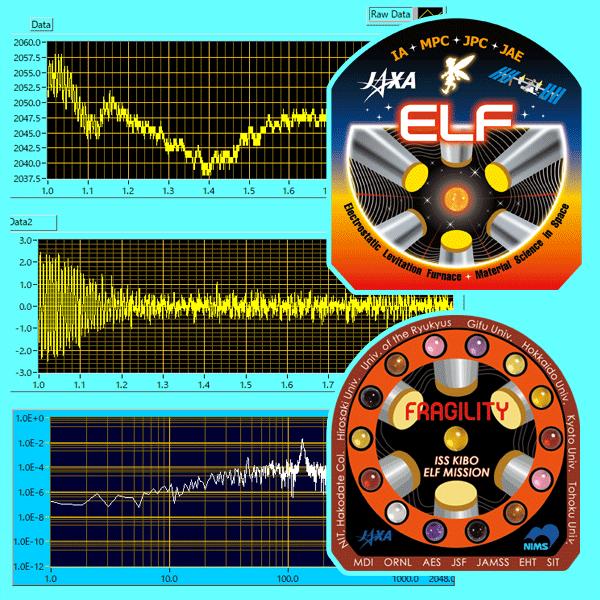 ガラスの成り立ちを調べる実験が進行中!~「きぼう」の静電浮遊炉(ELF)が謎に迫ります~